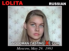 Look at Lolita getting her porn audition. Erotic meeting between Pierre Woodman and Lolita, a Russian girl.