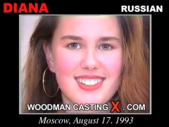 Watch our casting video of Diana. Erotic meeting between Pierre Woodman and Diana, a Russian girl.