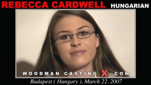 See the audition of Rebecca Cardwell