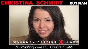 Watch Christina Schmidt first XXX video. Pierre Woodman undress Christina Schmidt, a Russian girl.