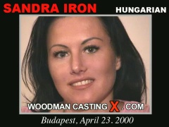 See the audition of Sandra Iron