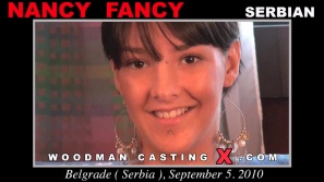 Watch our casting video of Nancy Fancy. Erotic meeting between Pierre Woodman and Nancy Fancy, a Serbian girl.