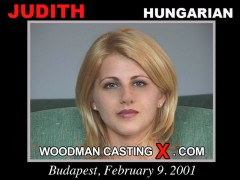Download Judith casting video files. Pierre Woodman undress Judith, a Hungarian girl.