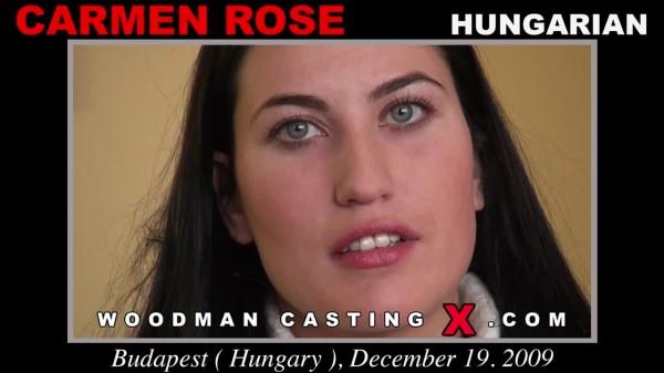 Carmen Rose Woodman Casting X