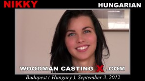 Watch our casting video of Nikky. Pierre Woodman fuck Nikky, Hungarian girl, in this video.