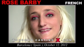 Download Rose Barby casting video files. Pierre Woodman undress Rose Barby, a French girl.