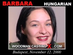 Watch our casting video of Barbara. Erotic meeting between Pierre Woodman and Barbara, a Hungarian girl.