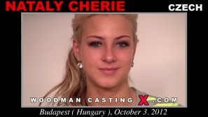 Access Nataly Cherie casting in streaming. A Czech girl, Nataly Cherie will have sex with Pierre Woodman.
