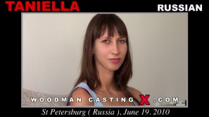 Check out this video of Taniella having an audition. Erotic meeting between Pierre Woodman and Taniella, a Russian girl.