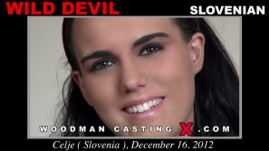 Look at Wild Devil getting her porn audition. Pierre Woodman fuck Wild Devil, Slovenian girl, in this video.