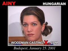 Watch our casting video of Ainy. Erotic meeting between Pierre Woodman and Ainy, a Hungarian girl.