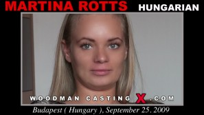 Watch our casting video of Martina Rotts. Erotic meeting between Pierre Woodman and Martina Rotts, a Hungarian girl.