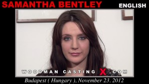 Check out this video of Samantha Bentley having an audition. Erotic meeting between Pierre Woodman and Samantha Bentley, a English girl.