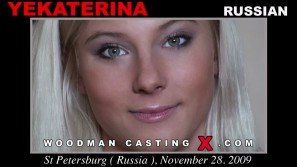 Watch Yekaterina first XXX video. Pierre Woodman undress Yekaterina, a Russian girl.