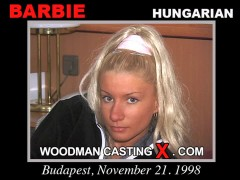 Download Barbie casting video files. Pierre Woodman undress Barbie, a Hungarian girl.