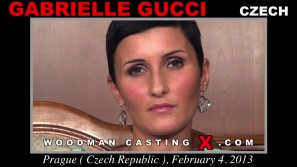 Access Gabrielle Gucci casting in streaming. Pierre Woodman undress Gabrielle Gucci, a Czech girl.