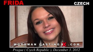 Watch Frida first XXX video. Pierre Woodman undress Frida, a Czech girl.