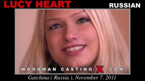 Watch Lucy Heart first XXX video. Pierre Woodman undress Lucy Heart, a Russian girl.