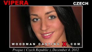 Look at Vipera getting her porn audition. Pierre Woodman fuck Vipera, Czech girl, in this video.