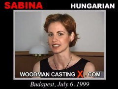 Download Sabina casting video files. Pierre Woodman undress Sabina, a Hungarian girl.
