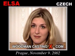Watch our casting video of Elsa. Pierre Woodman fuck Elsa, Czech girl, in this video.