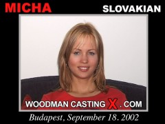 Check out this video of Micha having an audition. Erotic meeting between Pierre Woodman and Micha, a Slovak girl. 