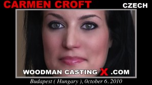 Access Carmen Croft casting in streaming. Pierre Woodman undress Carmen Croft, a  girl.