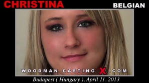 Check out this video of Christina having an audition. Erotic meeting between Pierre Woodman and Christina, a  girl.
