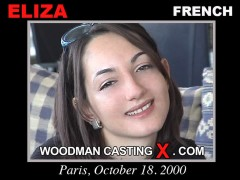 Watch our casting video of Eliza. Erotic meeting between Pierre Woodman and Eliza, a  girl. 
