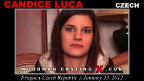 Look at Candice Luca getting her porn audition. Erotic meeting between Pierre Woodman and Candice Luca, a Czech girl.