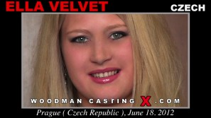 Watch our casting video of Ella Velvet. Erotic meeting between Pierre Woodman and Ella Velvet, a  girl. 