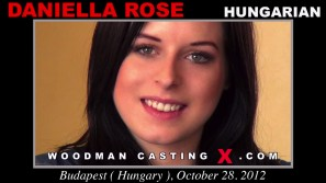 Download Daniella Rose casting video files. Pierre Woodman undress Daniella Rose, a  girl.