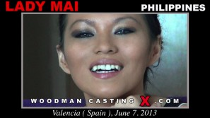Check out this video of Lady Mai having an audition. Erotic meeting between Pierre Woodman and Lady Mai, a  girl.
