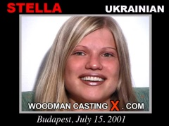 Watch our casting video of Stella. Erotic meeting between Pierre Woodman and Stella, a Ukrainian girl. 