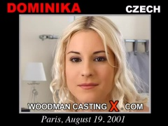 Access Dominika casting in streaming. Pierre Woodman undress Dominika, a Czech girl. 