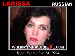 Access Larissa casting in streaming. Pierre Woodman undress Larissa, a Russian girl.