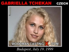 Check out this video of Gabriella Tchekan having an audition. Erotic meeting between Pierre Woodman and Gabriella Tchekan, a Czech girl.